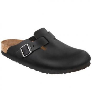 Boston Clogs, Nubuk geölt schmal Unisex