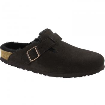 Boston Fell Veloursleder Clogs