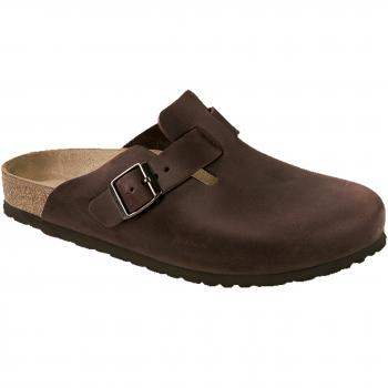 Boston Oiled Leather Clogs Unisex