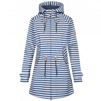 Damen Softshelljacke Island Friese Striped