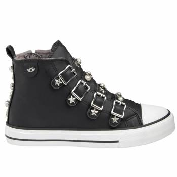 Perla Decorated Buckles Sneaker Damen