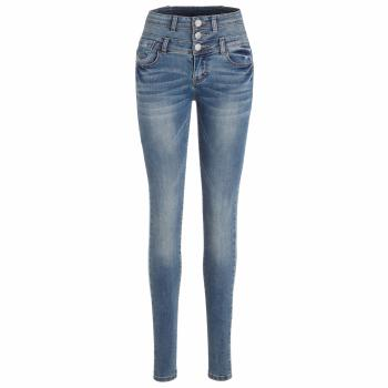 Seattl Skinny High Waist Jeans Damen