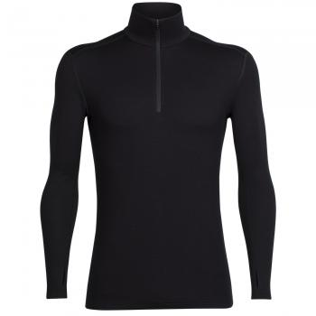Merino Tech Top Long Sleeve Zip Funktionsshirt Herren