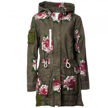 Talitha with Placket Parka Sommerjacke Damen