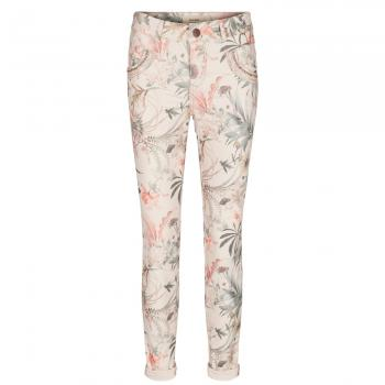 Naomi Shine Flower Jeans Damen