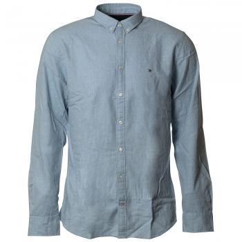 Heather Herringbone Shirt Hemd Herren