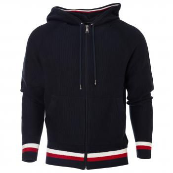 Structured Branded Zip Hoody Kapuzenjacke Herren