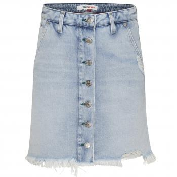 A-LINE SHORT DENIM SKIRT Jeansrock Damen