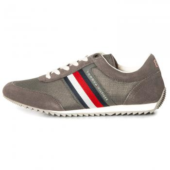 Corporate Material Mix Runner Sneaker Herren