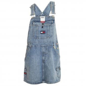 Dungaree Dress CRLT Jeanskleid Damen