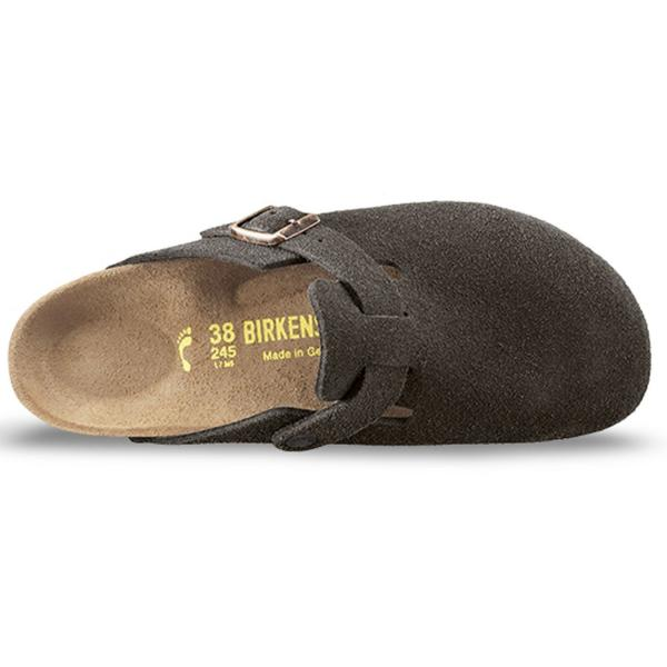 Boston Veloursleder Clogs Unisex 2